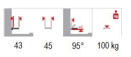 technické parametry sedačka do sprchy s kruhovým výřezem